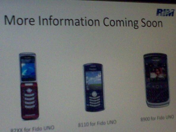 Fido's New BlackBerry Line Up!