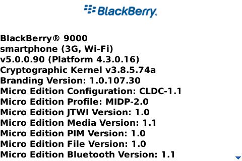 BlackBerry Bold OS 5.0.0.90 Found Online!