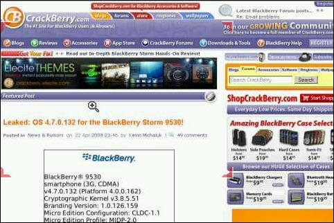 Skyfire On BlackBerry!