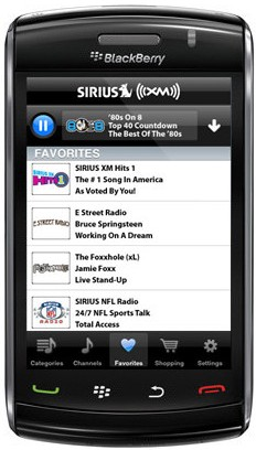 Sirius XM Radio App Coming To BlackBerry Soon?