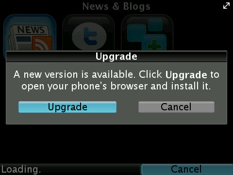 Snaptu For BlackBerry Updated To v.1.2.8