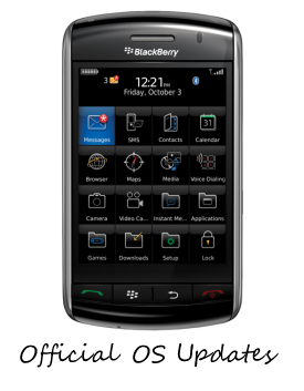 BlackBerry Storm 9520 Offical OS Update