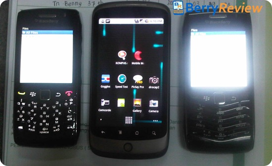 BlackBerry Pearl 9100 Live Pic With T9 Keypad Shows Up