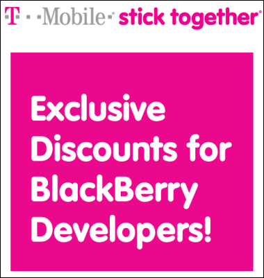 T-Mobile Giving Away Free BlackBerry Smartphones To Developers?