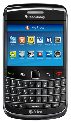 Telstra Launches BlackBerry Bold 9700!