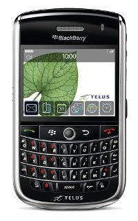 Telus BlackBerry Tour Launched!
