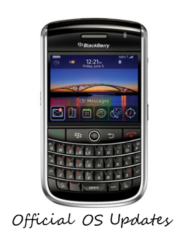 BlackBerry Tour Official OS Updates