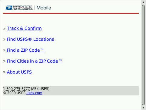 United States Postal Service Embraces The Mobile Web