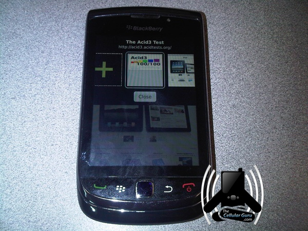 Leaked BlackBerry Bold 9800 Photos Show Off A Little More Of The Webkit Browser