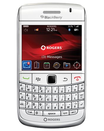 BlackBerry Bold 9700 In White Now Available From Rogers