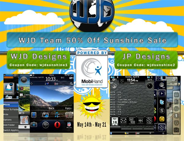 WJD Designs Teams Up With JP Designs To Offer Up 50% Off Theme Sale