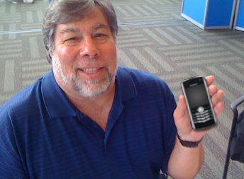 Steve Wozniak Uses BlackBerry?