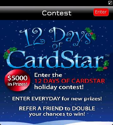 CardStar Contest