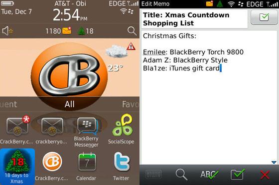 Christmas Countdown Homescreen Ornament