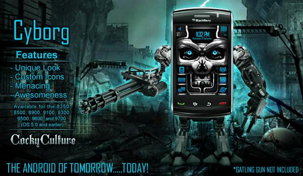 Cyborg Theme