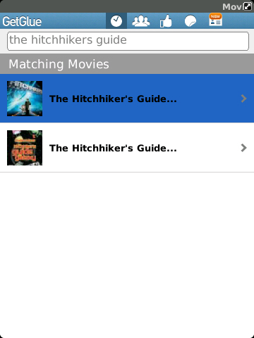 GetGlue Search