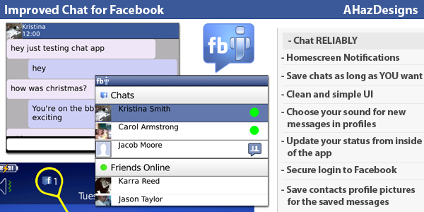 Improved Chat for Facebook
