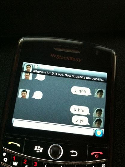LiveProfile for BlackBerry