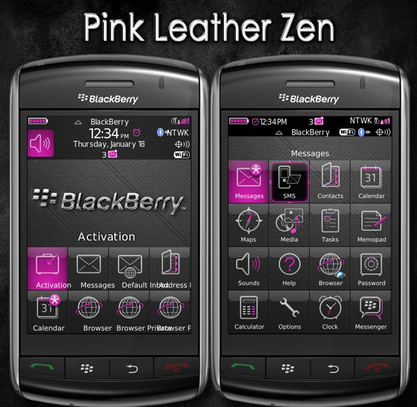 Pink Leather Zen