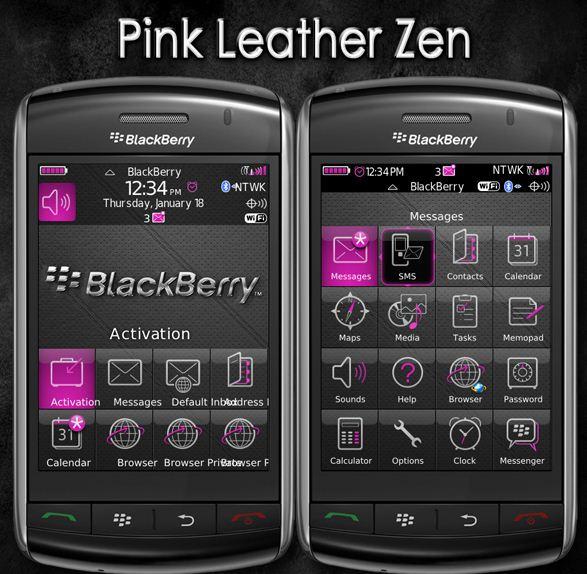 Pink Leather Zen