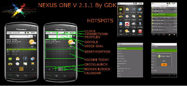 NEXUS ONE Theme