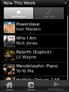 Rhapsody for BlackBerry