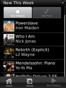 Rhapsody for BlackBerry