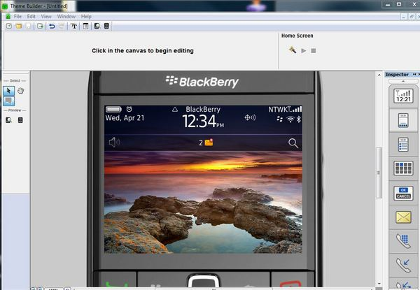 BlackBerry Theme Studio v6.0