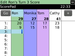 ScorePad by InHandHeld