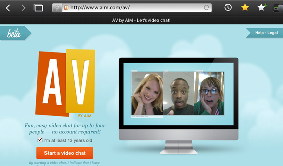 AV by AIM for BlackBerry PlayBook