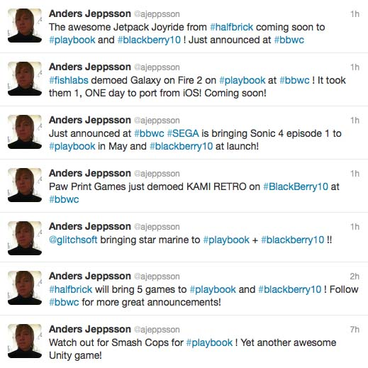 Anders Jeppsson tweets about games