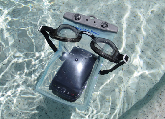 Aquapac case for BlackBerry