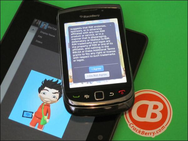 BlackBerry Avatar Builder