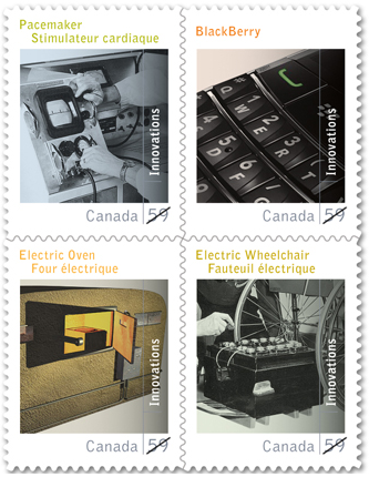 Canadian Innovations stamps