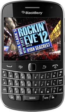 Dick Clark's New Year's Rockin' Eve with BlackBerry