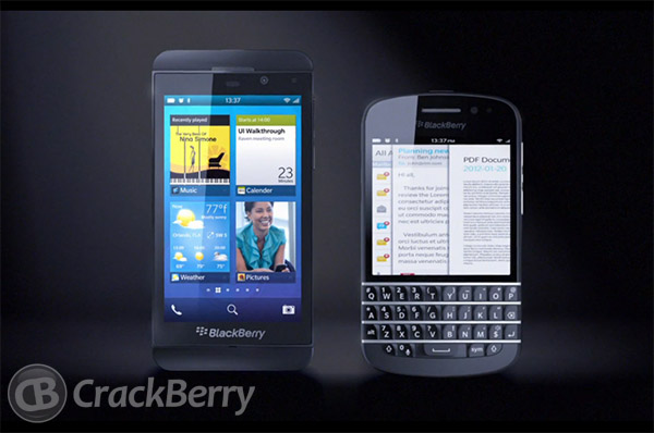 BlackBerry 10 phones