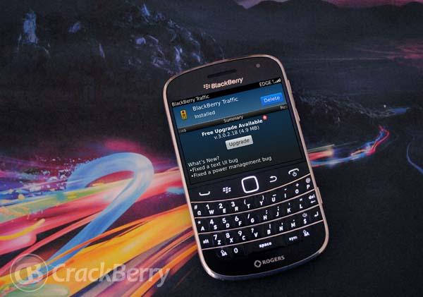 BlackBerry Traffic