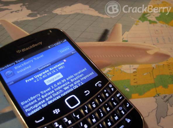 BlackBerry Travel