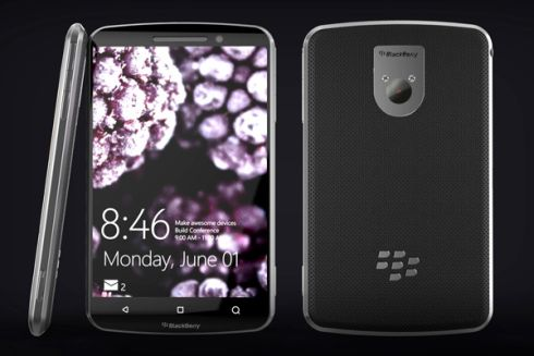 BlackBerry Windows phone concept