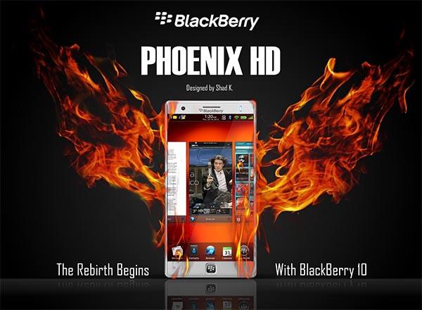BlackBerry Phoenix HD concept