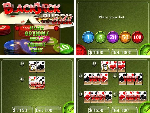 Blackjack Buddy Gold by Nickel Buddy