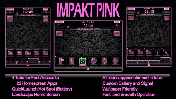 Impakt Pink JP Designs
