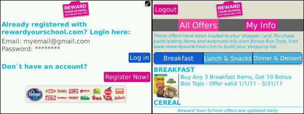 bonus Box Tops App by Asendu