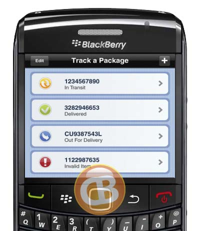Canada Post for BlackBerry