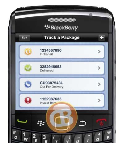 canada post releases blackberry app   crackberry.com