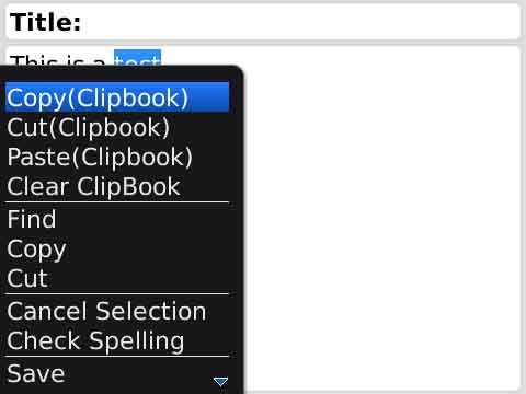 ClipBooks