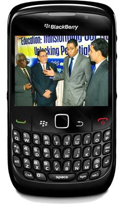 Jamaican teachers getting BlackBerry smartphones