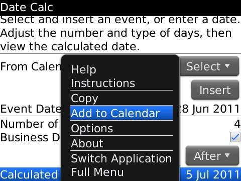 Date Calc