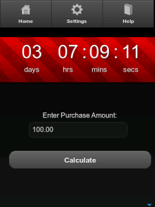 Days to Pay Calendar for BlackBerry