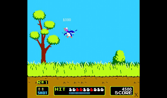 Duck Hunt on the BlackBerry PlayBook